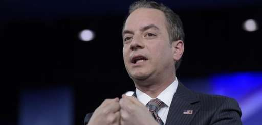 White House Chief of Staff Reince Priebus speaks