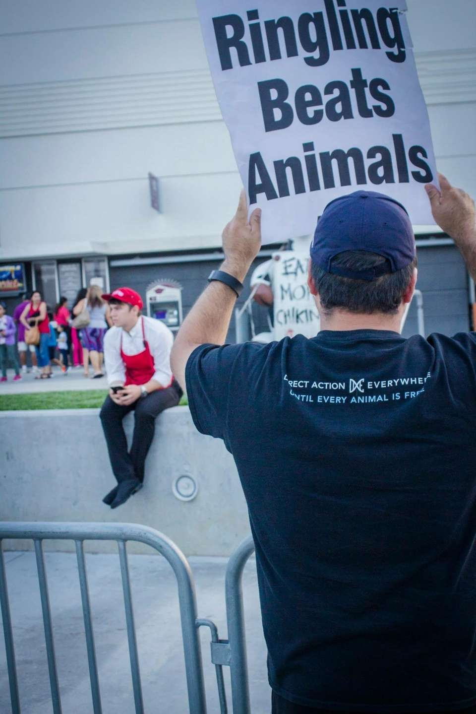 Been protesting Ringling Bros for almost 4 years.