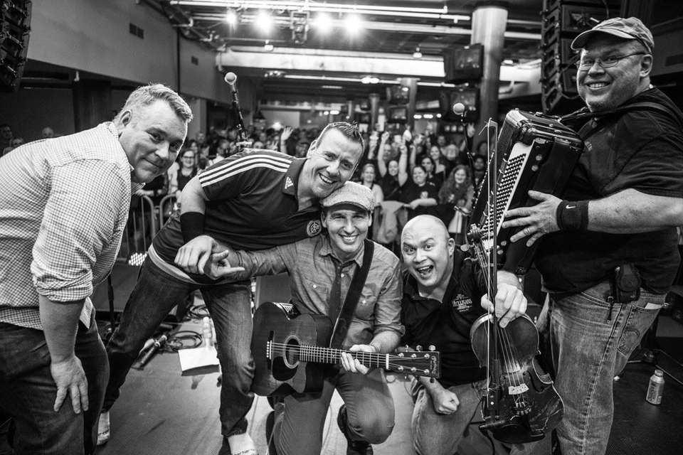 The New York-based Irish folk rock group will