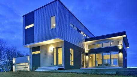 This home, with views of Long Island Sound