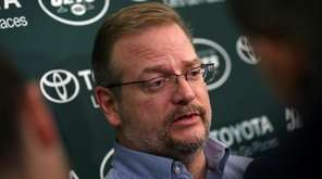 New York Jets general manager Mike Maccagnan answers