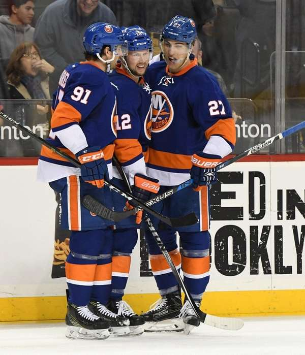 New York Islanders center John Tavares and Islanders