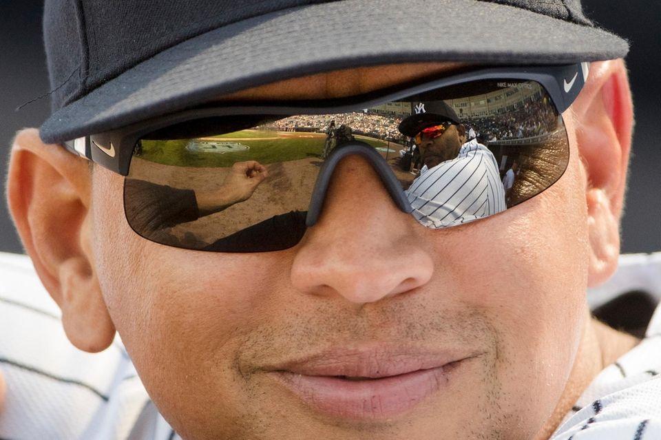 New York Yankees special advisor Alex Rodriguez speaks
