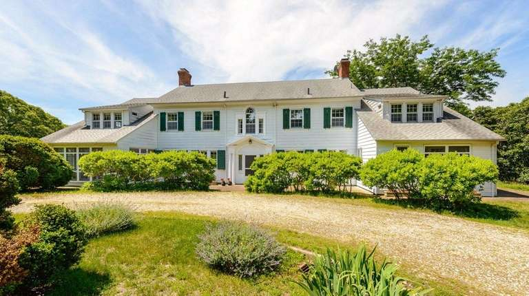 Cutchogue's Glendalough Estate, a secluded 15-acre family compound,