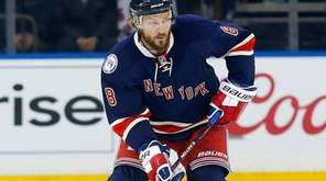 Kevin Klein of the New York Rangers skates