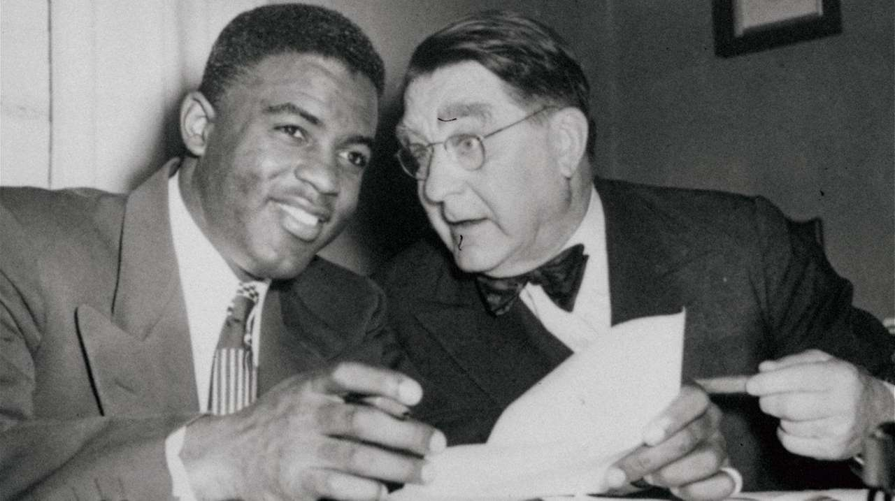 Jackie Robinson and Branch Rickey: Together in history | Newsday