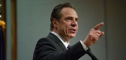 Gov. Andrew Cuomo delivers his Long Island regional