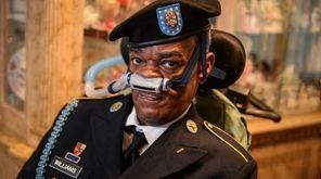 U.S. Army veteran Andre Williams Sr., 56, shown