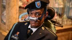 U.S. Army veteran Andre Williams Sr., 56, shown