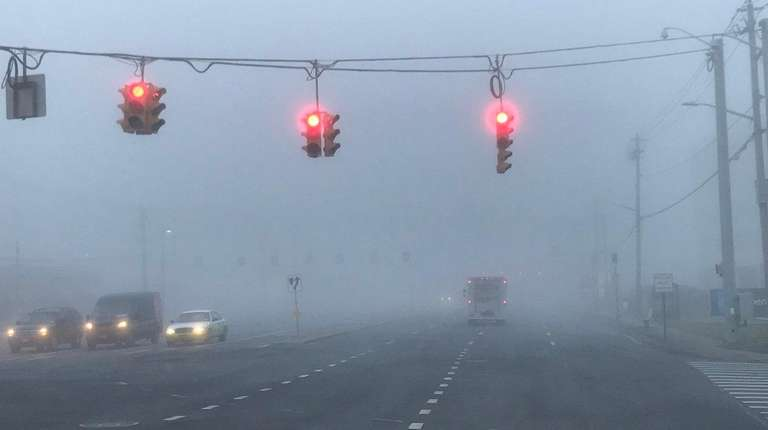 It's a foggy start for motorists on Saturday