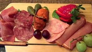 A Spanish meat board at Viaggio Wine &