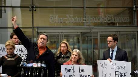 Civil liberties lawyer Norman Siegel defends a free