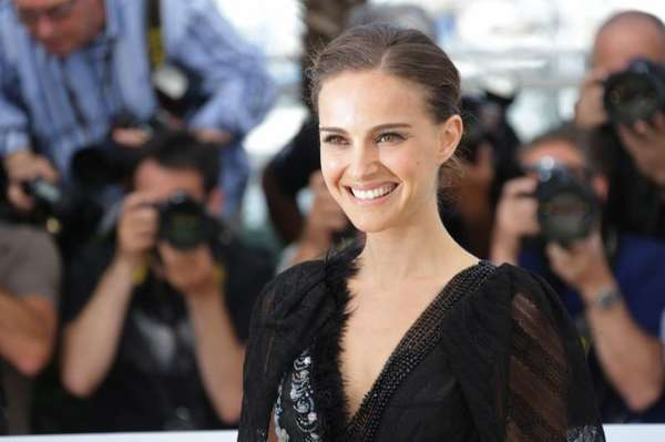 Natalie Portman, nominated for her role in the