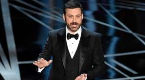 During his opening monologue, Oscars host Jimmy Kimmel