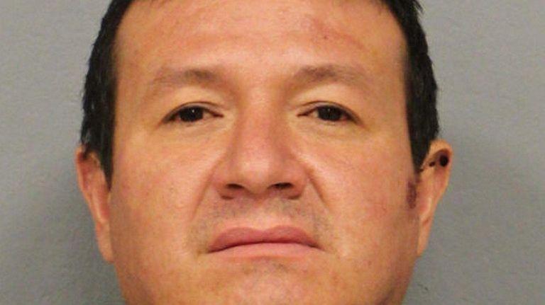Edicson Cartagena, 36, of Uniondale, was arrested Sunday,