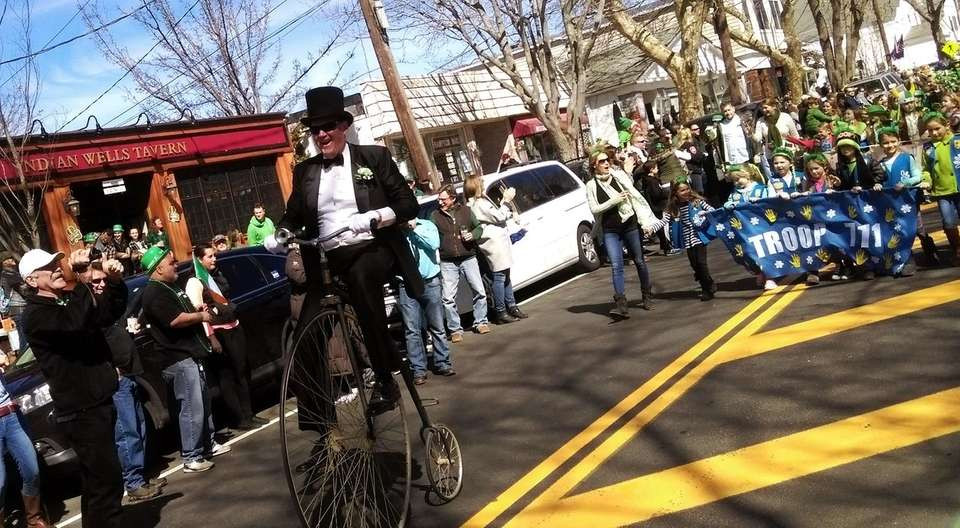 The shortest St. Patrick's Day parade on Long