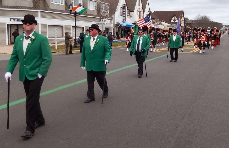 Billed as the second-largest St. Patrick's Day Parade