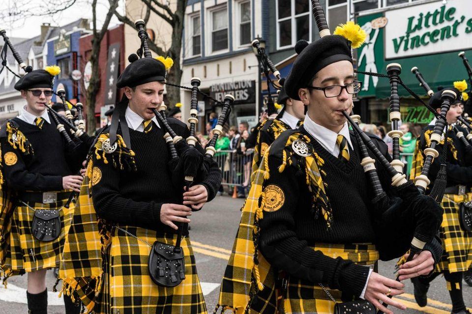 The oldest St. Patrick's Day Parade on LI,