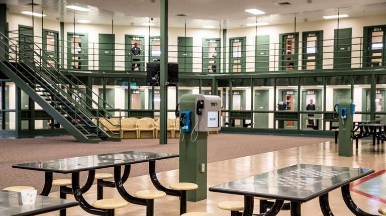 A common space at the Suffolk County Correctional