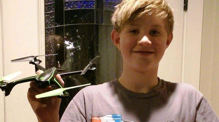 Kidsday reporter Allen Kirsch tested the Sky Viper