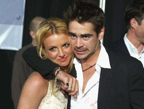 Britney Spears accompanied Colin Farrell to the premiere