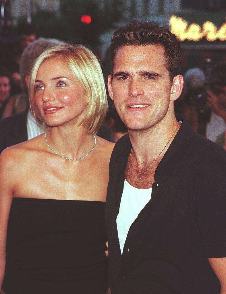 Cameron Diaz and Matt Dillon started dating in