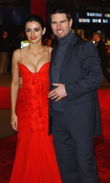 Tom Cruise and Penelope Cruz met in 2000