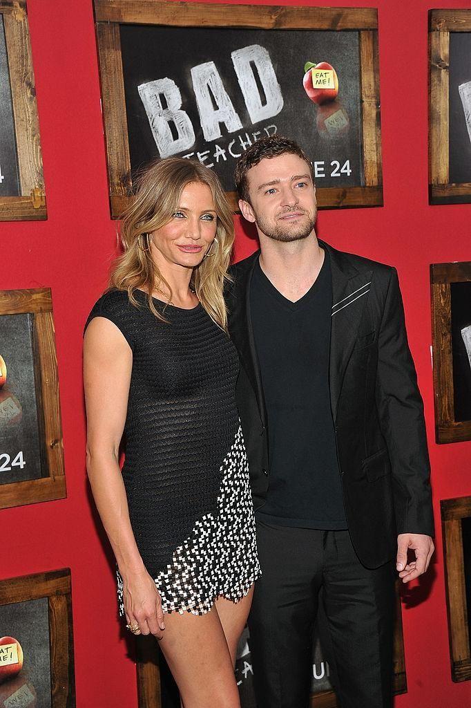 Actress Cameron Diaz and singer Justin Timberlake met
