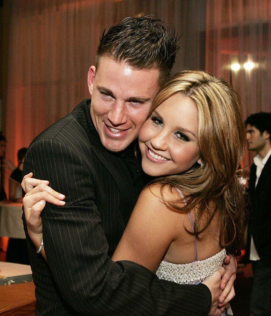Amanda Bynes and Channing Tatum met on the