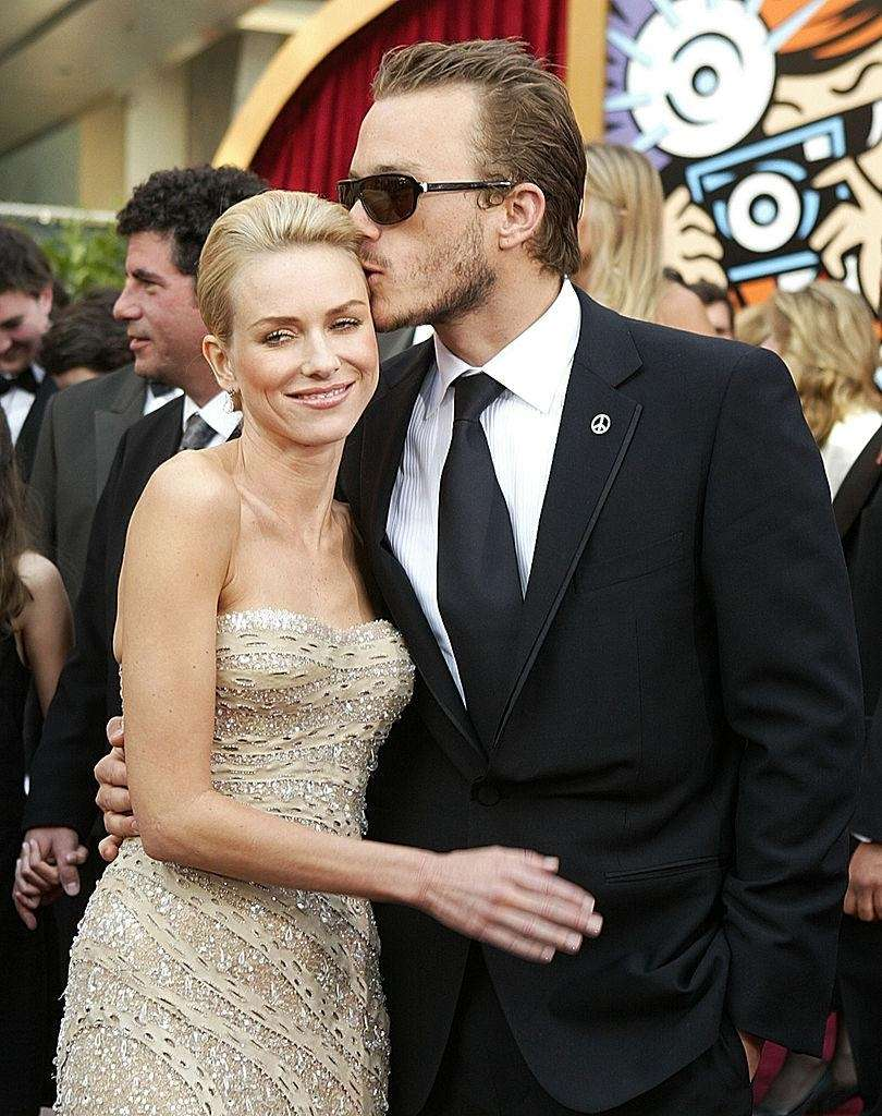 Naomi Watts and the late Heath Ledger began