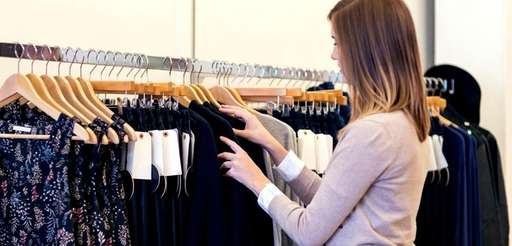 An employee at a clothing retailer asked to