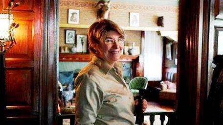 Arlene Yarwood of Floral Park volunteers at Sagamore