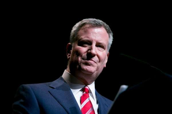 NYC Mayor Bill de Blasio said in a