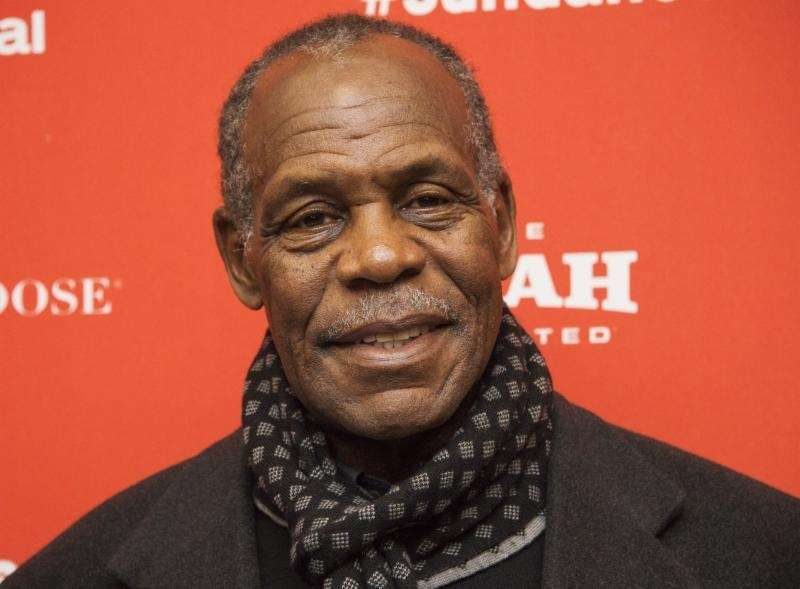 Danny Glover plays a homeless veteran in the