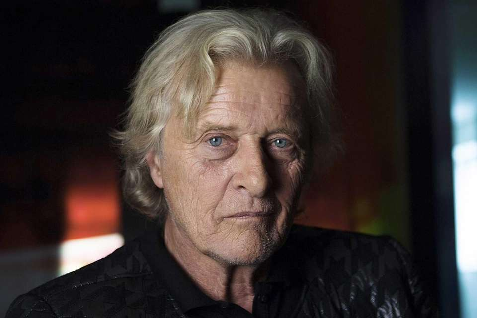 Rutger Hauer starred as the titular character in