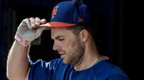 Mets infielder David Wright during a spring training