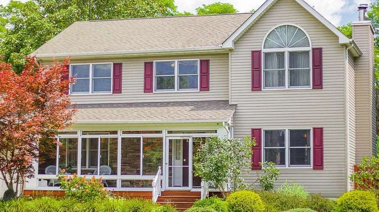 This Center Moriches Colonial, is listed for $399,000