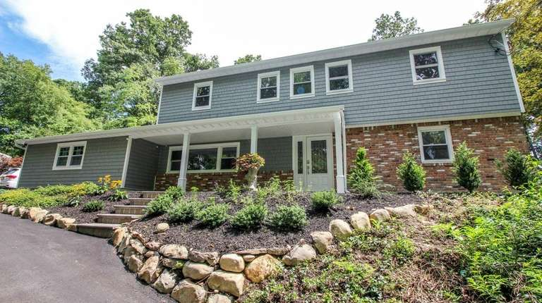 This four-bedroom Huntington split-level, is listed for $647,500