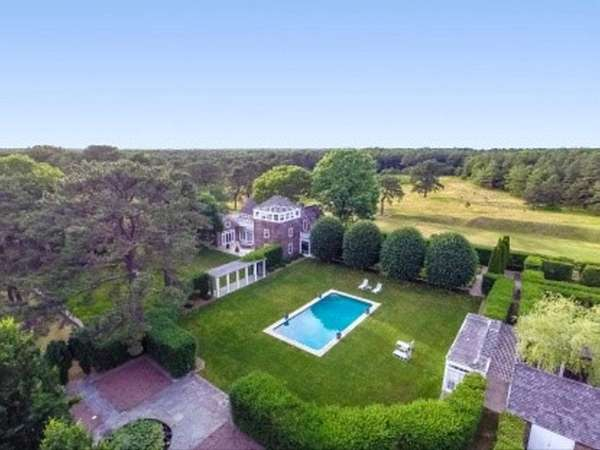 An East Hampton property once owned by publisher