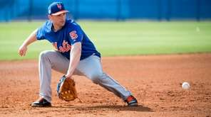 New York Mets third baseman David Wright on
