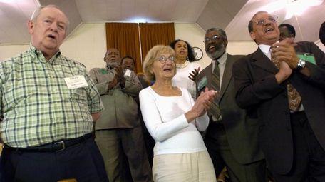 Former Neshoba County Democrat newspaper publisher Stanley Dearman,