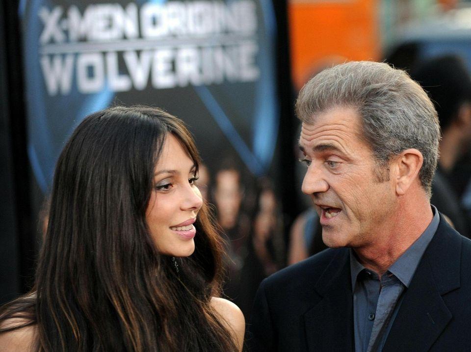 When musician Oksana Grigorieva and actor-director Mel Gibson