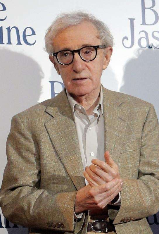 Director and actor Woody Allen, who first got