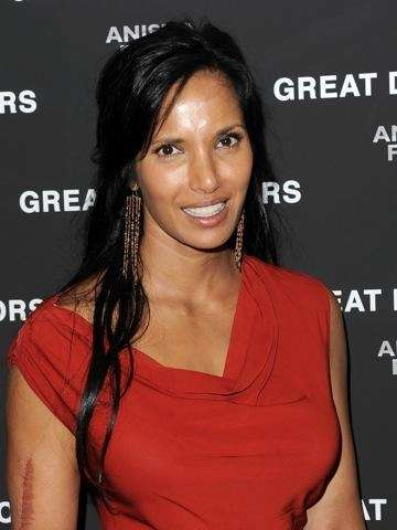 Author and TV personality Padma Lakshmi had a