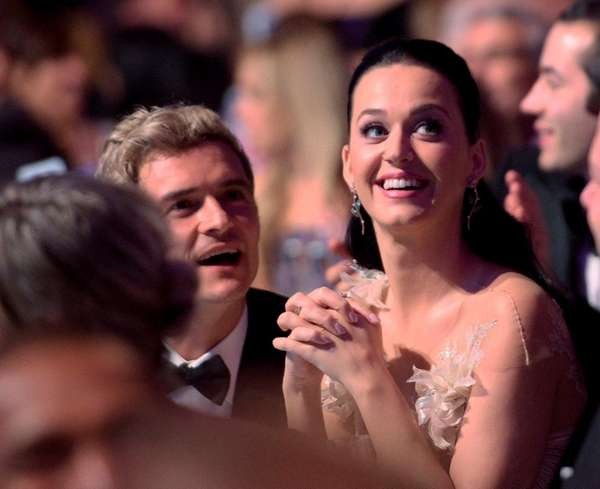 Orlando Bloom and Katy Perry at the UNICEF