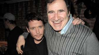 Actors Kevin Connolly, left, and Richard Kind attend