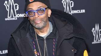Filmmaker Spike Lee attends the Moncler Grenoble collection
