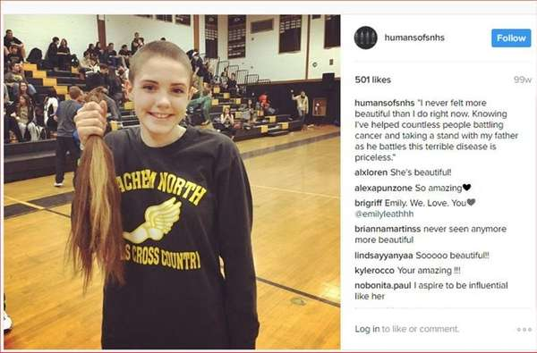 The Instagram account Humans of Sachem North profiles