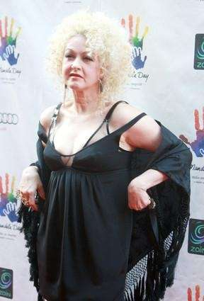 Cyndi Lauper attends the Mandela Day: A 46664