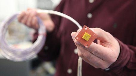 Aerospace manufacturer Cox & Co. makes temperature-control equipment,